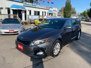 Used 2014 Kia Optima EX-ACCIDENT FREE for sale in Stoney Creek, ON