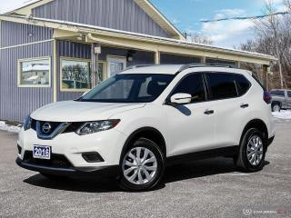 Used 2016 Nissan Rogue S,AWD,ECO/SPORT,R/V CAM,B.TOOTH,USB,SATELLITE for sale in Orillia, ON