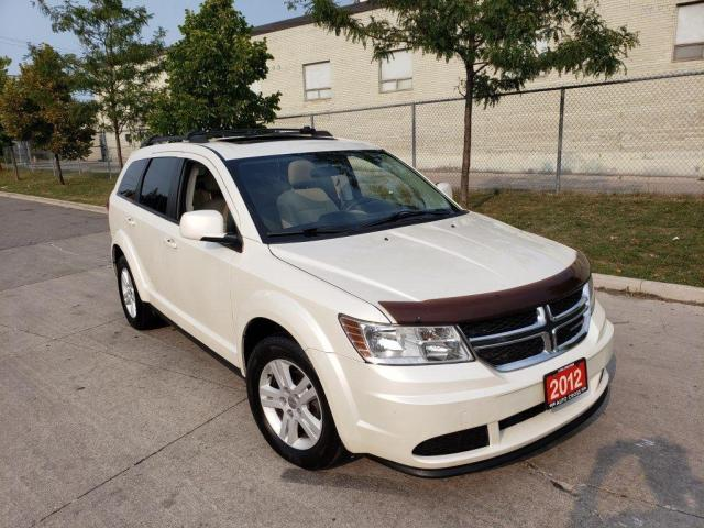 2012 Dodge Journey Sunroof, Auto, 3 Years warranty available.