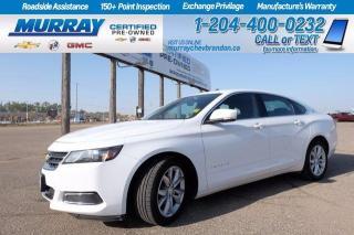 Used 2016 Chevrolet Impala V6 *Remote Start* Backup Cam* Keyless Entry* for sale in Brandon, MB