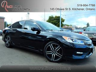 Used 2016 Honda Accord Sport w/HondaSensing.Moonroof.Camera.HeatedSeats for sale in Kitchener, ON