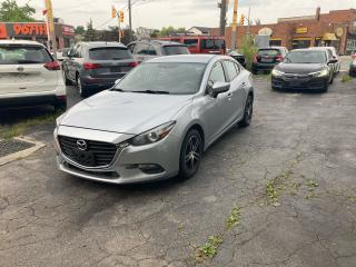 Used 2017 Mazda MAZDA3 GX/NAVIGATION/CAMERA/AUTO/4CYLINDER/CERTIFIED for sale in Toronto, ON