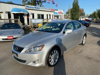 Used 2008 Lexus IS 250 AWD-LOW KMS-MINT for sale in Stoney Creek, ON