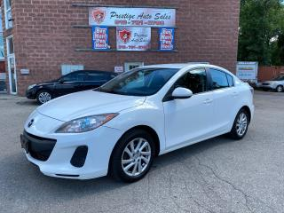 Used 2012 Mazda MAZDA3 GS-SKY/2L/SAFETY+ WARRANTY INCLUDED for sale in Cambridge, ON