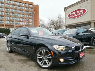 Used 2016 BMW 320i xDrive CLEAN CARFAX   RED LEATHER   4 NEW WINTER TIERS   for sale in Scarborough, ON
