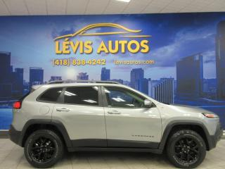 Used 2015 Jeep Cherokee TRAILHAWK 4X4 CUIR GPS TOIT PANORAMIQUE for sale in Lévis, QC