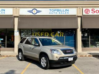 Used 2008 GMC Acadia SLE only 76,000 Km for sale in Vaughan, ON