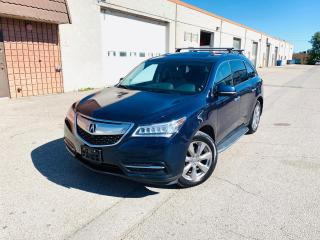 Used 2014 Acura MDX ELITE PACK | CERTIFIED | BU CAM | NAVI for sale in Burlington, ON