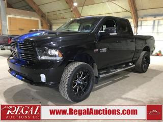 Used 2016 RAM 1500 Sport 4D Quad CAB 4WD for sale in Calgary, AB