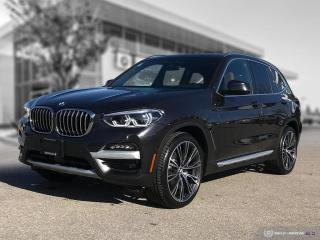 New 2021 BMW X3 xDrive30i ULTIMATE PACKAGE for sale in Winnipeg, MB