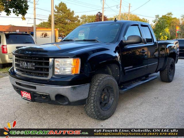 2011 GMC Sierra 1500 SLE|NO ACCIDENT|SINGLE OWNER|4WD|CERTIFIED