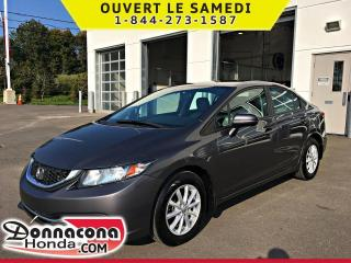 Used 2015 Honda Civic LX *GARANTIE 10 ANS / 200 000 KM* for sale in Donnacona, QC