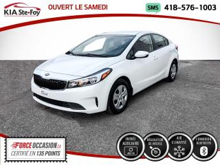 Used 2018 Kia Forte * LX* BLUETOOTH* JAMAIS ACCIDENTÉ* UN SE for sale in Québec, QC