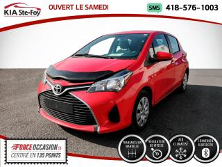 Used 2015 Toyota Yaris * LE* BLUETOOTH* BAS KILOMETRAGE* MANUEL for sale in Québec, QC
