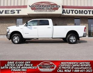 Used 2019 RAM 3500 BIG HORN 6.4L HEMI CREW 8FT BOX 4X4 LOADED NEW GEN for sale in Headingley, MB