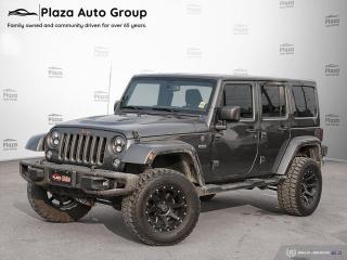 Used 2017 Jeep Wrangler JK Unlimited Sahara for sale in Orillia, ON