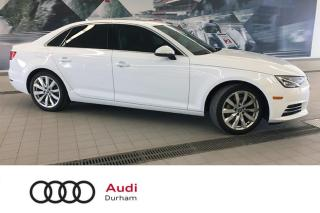 Used 2017 Audi A4 2.0T Komfort + Sunroof   CarPlay   quattro for sale in Whitby, ON