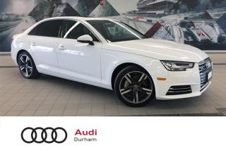 Used 2017 Audi A4 2.0T Technik + Virt Cockpit | Blind Spot | B & O for sale in Whitby, ON