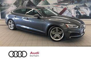 Used 2018 Audi A5 Sportback 2.0T Progressiv + S-Line | Blind Spot | 360 Camera for sale in Whitby, ON