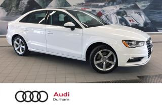 Used 2016 Audi A3 2.0T Komfort + quattro | Pano Roof | Cruise for sale in Whitby, ON