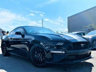 Used 2018 Ford Mustang GT PREMIUM|REAR VIEW|BACKUP SENSORS|NAVI|HEATED VENT SEATS! for sale in Brampton, ON