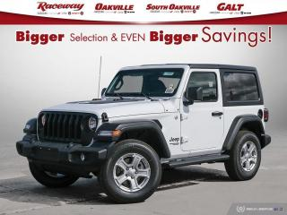 New 2021 Jeep Wrangler Sport S for sale in Etobicoke, ON
