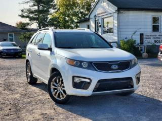 Used 2012 Kia Sorento NoAccidents1-Owner SX V6 7PASS NAVI PANO BckpCam RemoteStart for sale in Sutton, ON