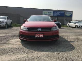 Used 2016 Volkswagen Jetta Sedan LOADED 4dr 1.4 TSI Auto /1YEAR WARRANTY for sale in Brampton, ON