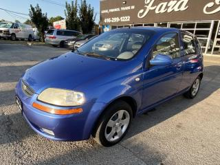 Used 2005 Chevrolet Aveo LT for sale in Scarborough, ON