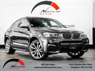 Used 2017 BMW X4 xDrive M40i|M-Sport|Navigation|Heads Up Disp|Camera for sale in Vaughan, ON