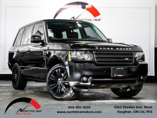Used 2012 Land Rover Range Rover HSE Luxury|Navigation|Camera|Heated Cooled Seats|Sunroof for sale in Vaughan, ON