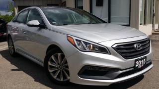 Used 2015 Hyundai Sonata Sport - BACK-UP CAM! BSM! PANO ROOF! for sale in Kitchener, ON
