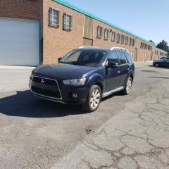 Used 2010 Mitsubishi Outlander 4WD|GT|CLEAN CARFAX|7 PASS|CERTIFIED|WARRANTY for sale in Richmond Hill, ON