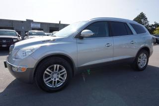 Used 2008 Buick Enclave CX AWD 7 PSSNGR CERTIFIED 2YR WARRANTY *FREE ACCIDENT* BLUETOOTH CRUISE ALLOYS AUX for sale in Milton, ON