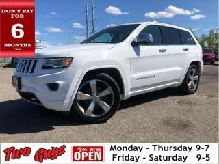 Used 2016 Jeep Grand Cherokee Overland | New Tires | Nav  | Leather | Panoroof | for sale in St Catharines, ON