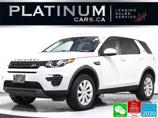 Used 2017 Land Rover Discovery Sport AWD, NAV, HEATED, BLUETOOTH, KEYLESS, PARK ASSIST for sale in Toronto, ON