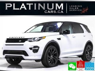 Used 2017 Land Rover Discovery Sport HSE Luxury, AWD, NAV, PANO, CAM, HEATED, VENT SEAT for sale in Toronto, ON