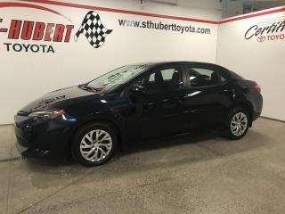 Used 2018 Toyota Corolla BANCS CHAUFFANTS, CVT LE for sale in St-Hubert, QC