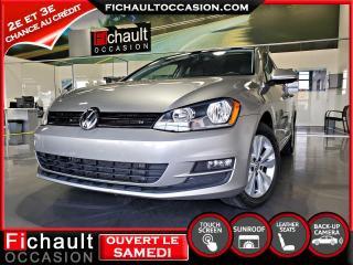 Used 2015 Volkswagen Golf 1.8 TSI COMFORTLINE *** CUIR** TOIT OUVR for sale in Châteauguay, QC