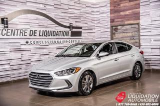 Used 2018 Hyundai Elantra GL+SIEG+VOLANT/CHAUFF+CAM/RECUL+BLUETOOTH for sale in Laval, QC