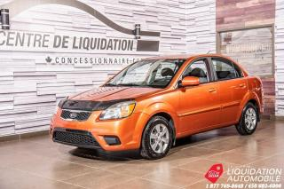 Used 2010 Kia Rio EX+GR ELECTRIQUE+BLUETOOTH for sale in Laval, QC
