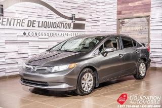Used 2012 Honda Civic LX for sale in Laval, QC