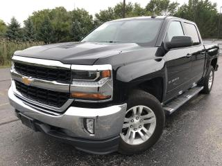 Used 2018 Chevrolet Silverado 1500 LT CREW CAB 4X4 for sale in Cayuga, ON