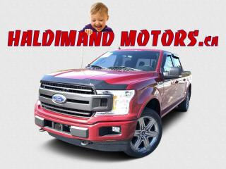 Used 2018 Ford F-150 XLT FX4 Crew 4X4 for sale in Cayuga, ON