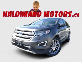 Used 2016 Ford Edge Titanium AWD for sale in Cayuga, ON
