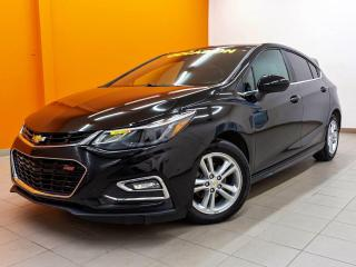Used 2017 Chevrolet Cruze RS *TOIT* SIEGES CHAUFF *BOSE* CAMERA *WIFI* PROMO for sale in St-Jérôme, QC