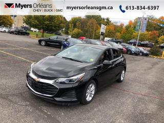 Used 2019 Chevrolet Cruze LT  - Low Mileage for sale in Orleans, ON