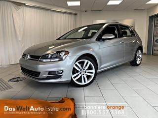 Used 2016 Volkswagen Golf 1.8TSI Highline, Cuir, Toit, Automatique for sale in Sherbrooke, QC