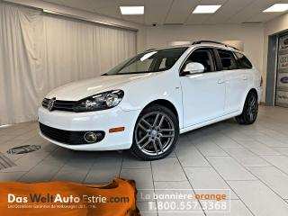 Used 2014 Volkswagen Golf Wagon TDI Wolfsburg, Cuir, Toit, Automatique for sale in Sherbrooke, QC