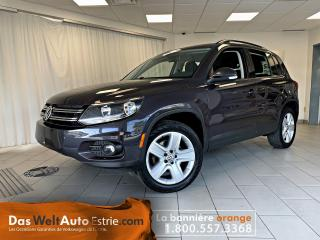 Used 2016 Volkswagen Tiguan 4Motion, special Edition, Automatique for sale in Sherbrooke, QC